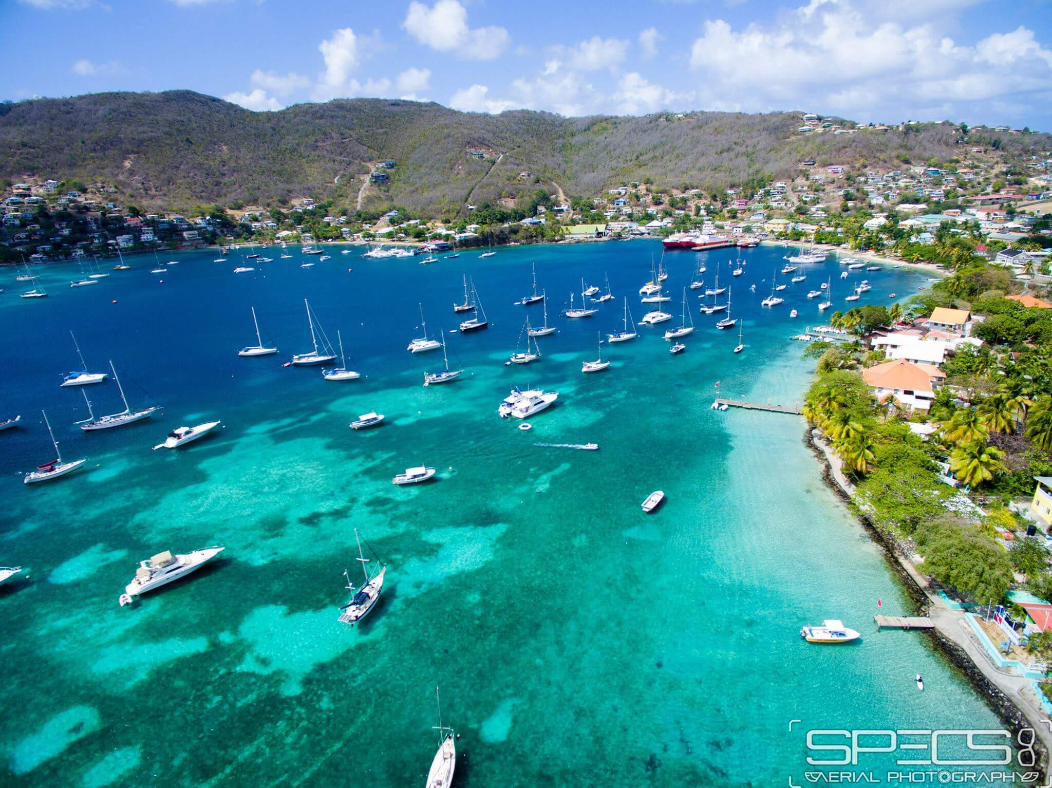 The island of Bequia - Saint Vincent and the Grenadines